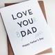 Steel Petal Press Dad Jokes Father's Day Card