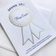 Steel Petal Press Award Grown Up AF - Home Owner Card