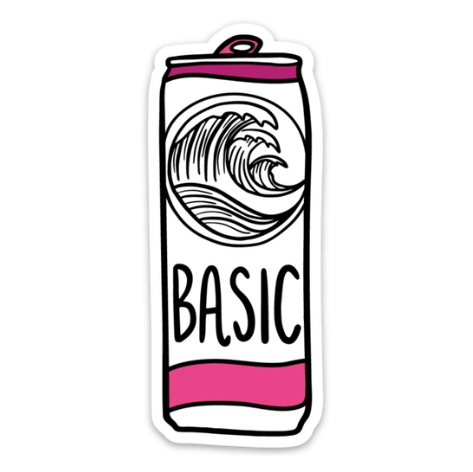 Brittany Paige Basic White Claw Sticker