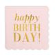 Creative Brands Happy Birthday Cocktail Napkins