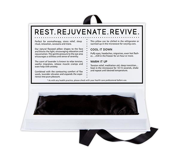 Creative Brands Lavender Eye Pillow Set