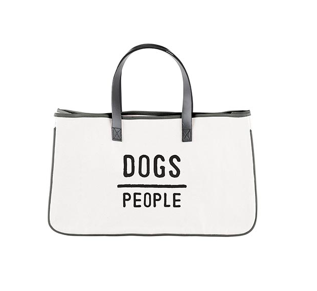 Creative Brands Canvas Tote - Dogs/ People