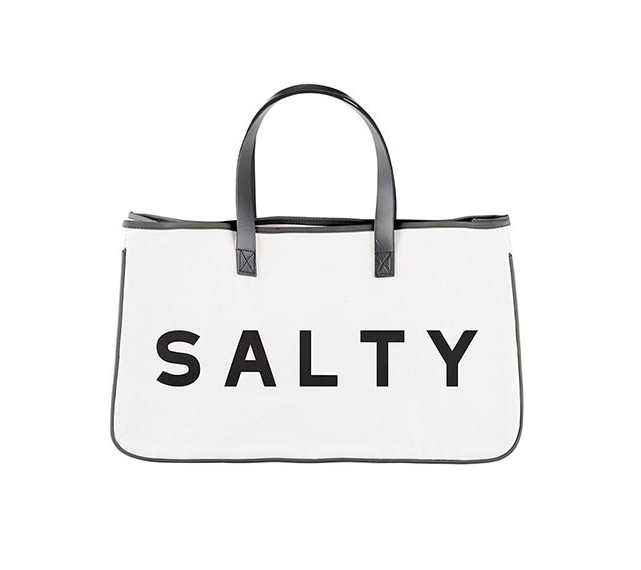 Creative Brands Canvas Tote - Salty