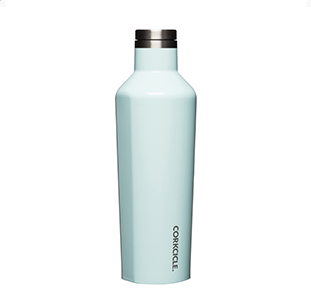 Corkcicle. Canteen 16oz Gloss Powder Blue