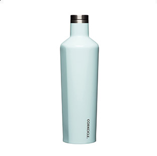 Corkcicle. Canteen 25oz Gloss Powder Blue