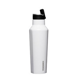 Corkcicle. Sport Canteen - 20oz Gloss White