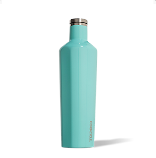 Corkcicle. Canteen 25oz Gloss Turquoise