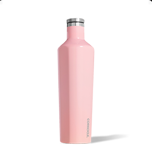 Corkcicle. Canteen 25oz Gloss Rose Quartz