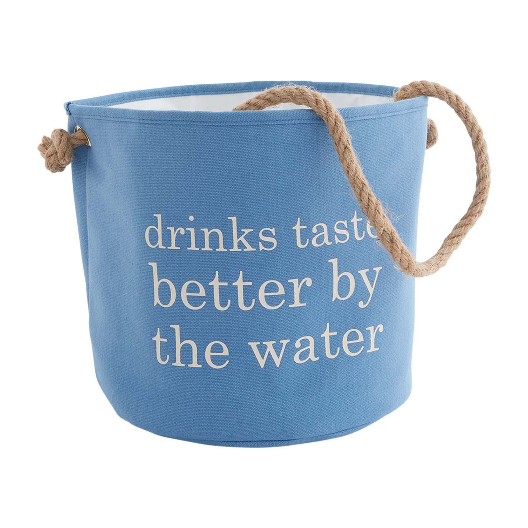 Mud Pie DRINK TASTE BETTER COOLER BAG