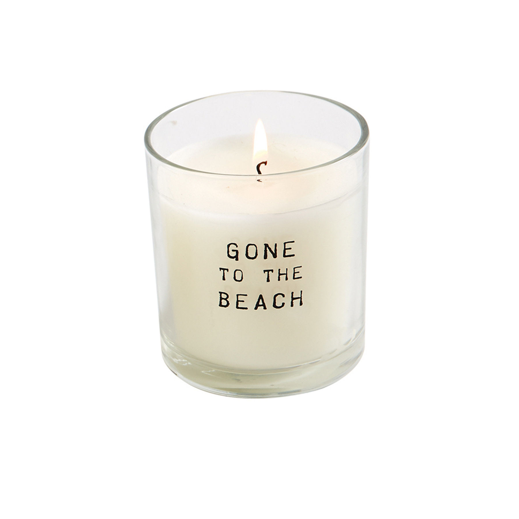 Mud Pie GONE TO BEACH CANDLE IN BAG