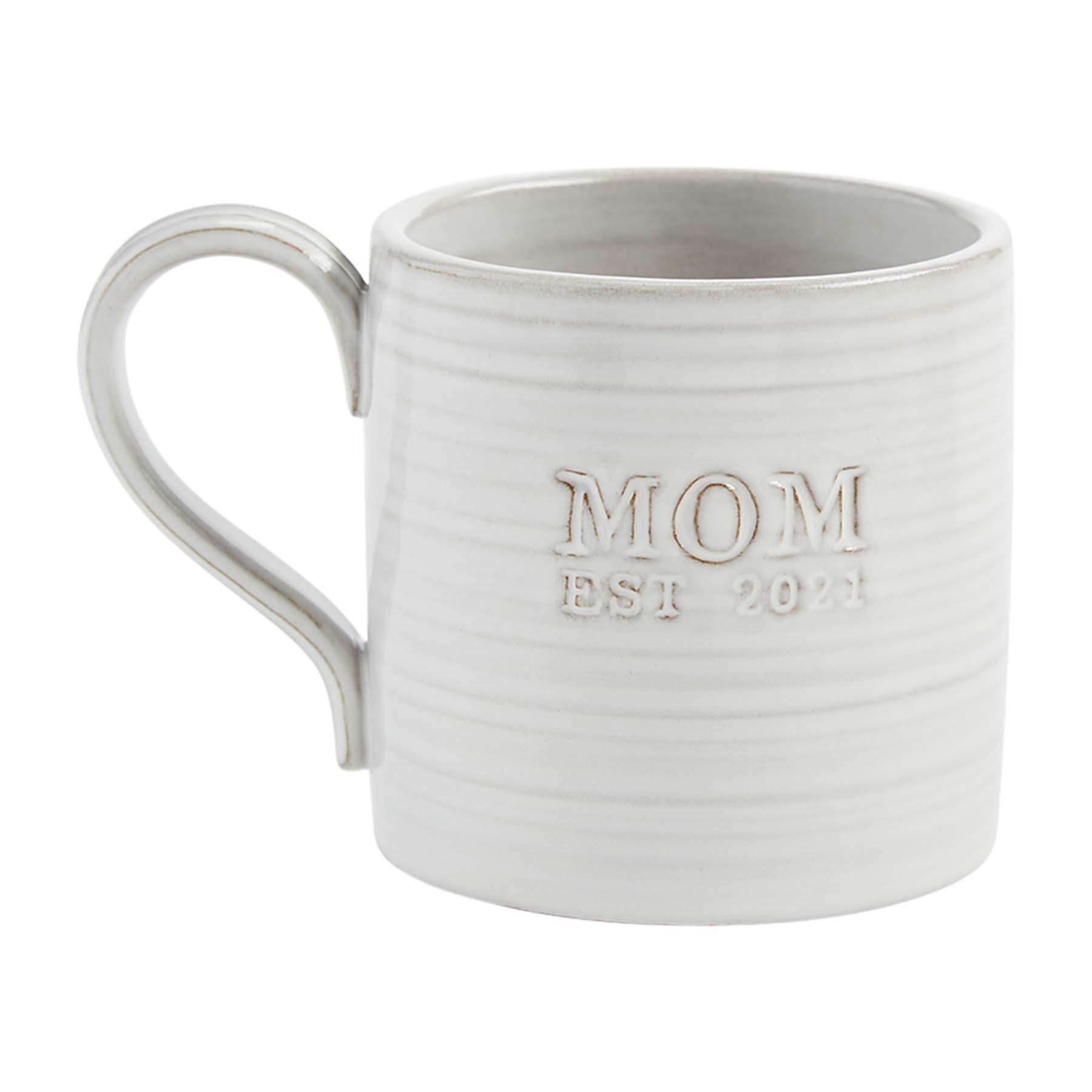 Mud Pie MOM EST 2021 MUG