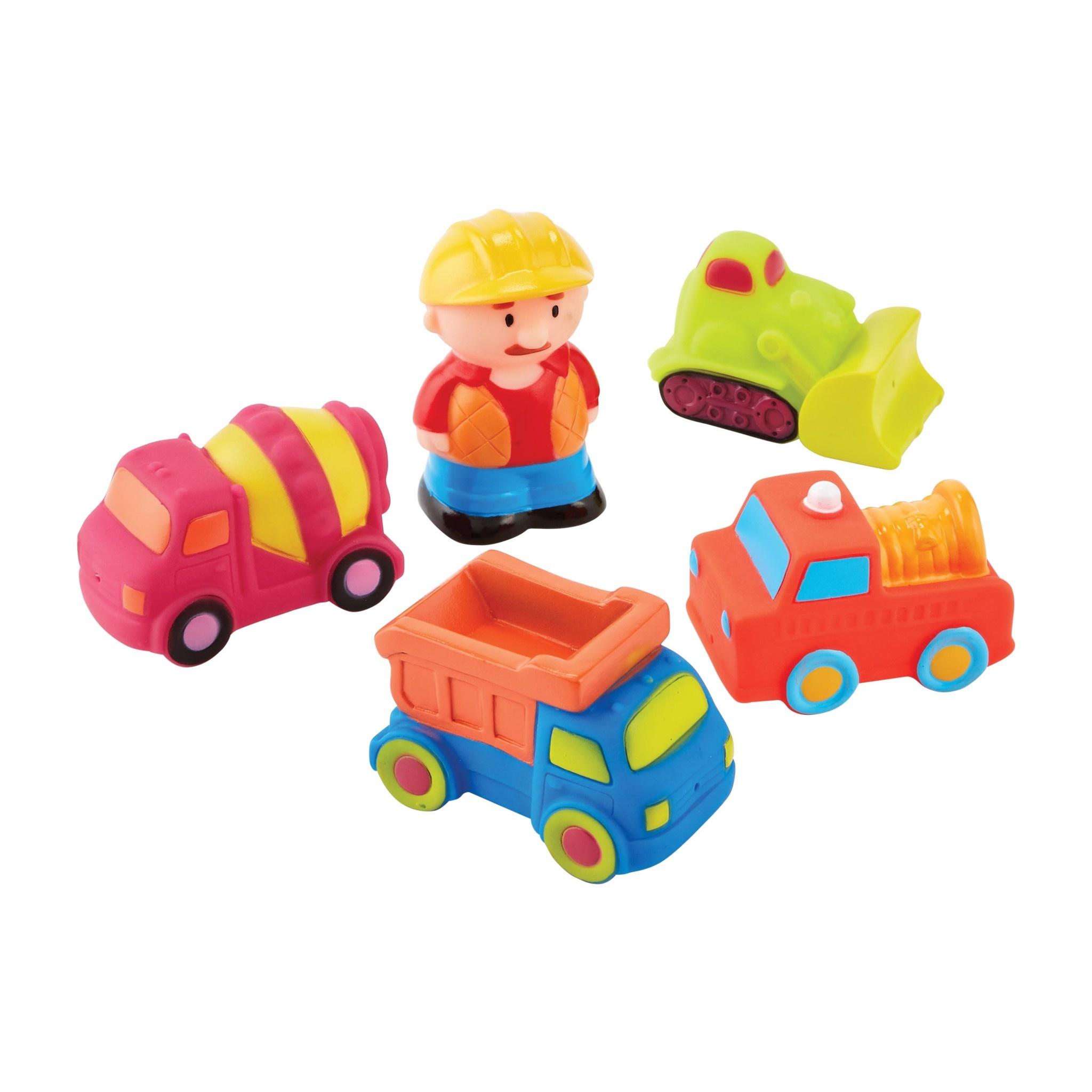 Mud Pie Construction Bath Toy Set