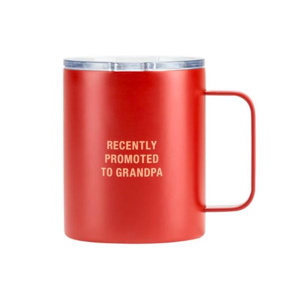 About Face Designs Grandpa Insulated Mug