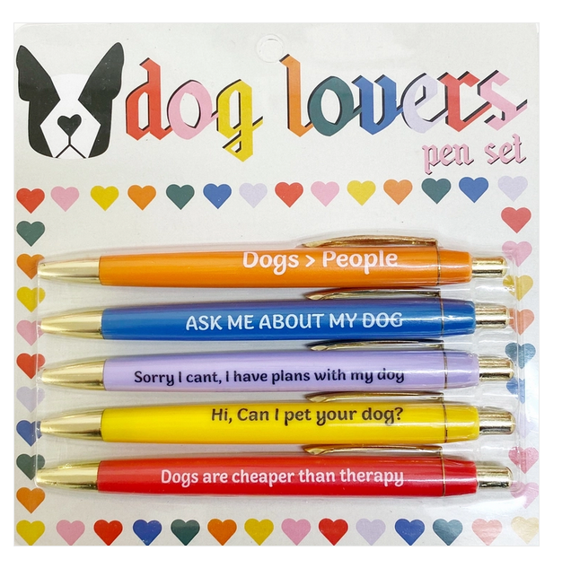 FUN CLUB Dog Lovers Pen Set