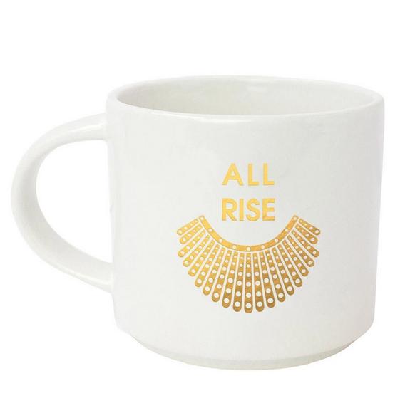 Chez Gagne All Rise RBG Collar Mug