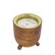 Rewined Malbec Barrel Aged Candle