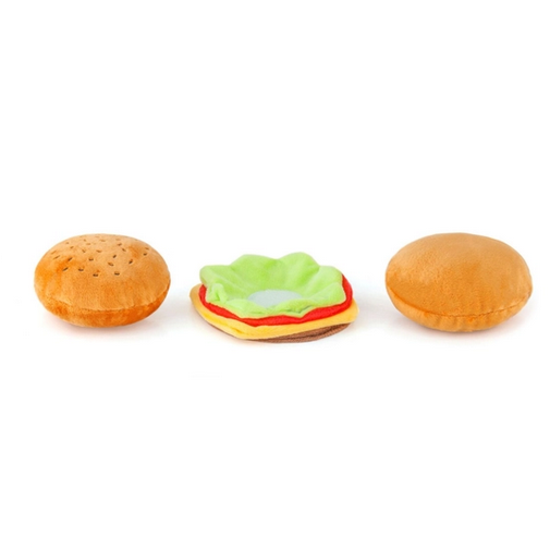 P.L.A.Y. Pet Lifesytle and You Burger Dog Toy
