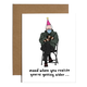 Brittany Paige Bernie Sanders Mood Birthday Card