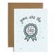 Brittany Paige Best Dad Ever Sticker Card