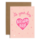 Brittany Paige Birthday Babe Sticker Card