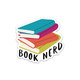 Row House 14 Book Nerd Sticker