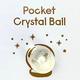 TOPS Malibu Little Surprise Pocket Crystal Ball