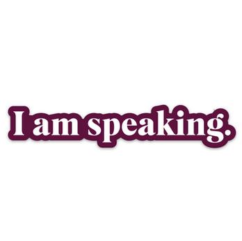 FUN CLUB I am Speaking Sticker