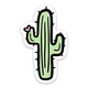 Brittany Paige Cactus Sticker