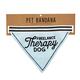 Creative Brands Freelance Therapy Dog Pet Bandana