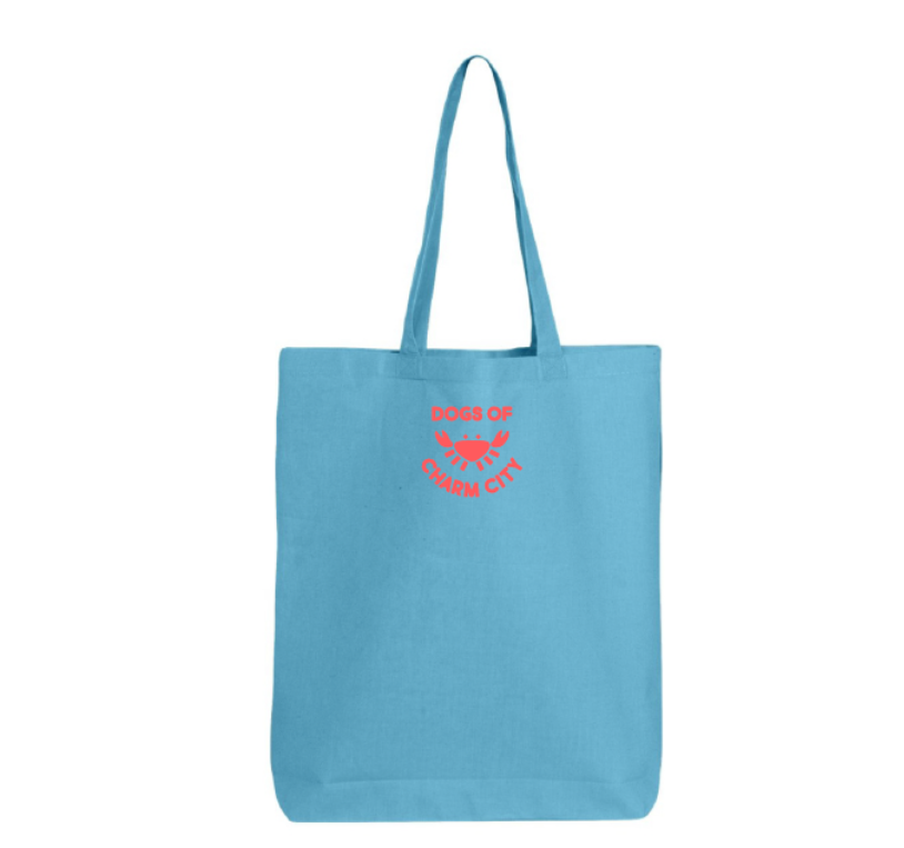 Dogs of Charm City Dogs Are My Favorite People Tote Bag