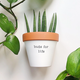 Rally & Roots Buds for Life Planter