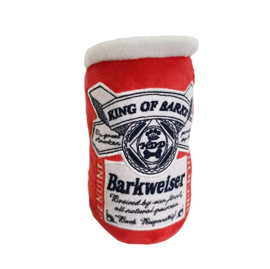 Haute Diggity Dog Barkweiser Can Dog Toy