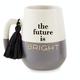 Mud Pie The Future is Bright Graduation Mug