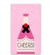 Rock Scissor Paper Champagne Bottle - Enclosure Card