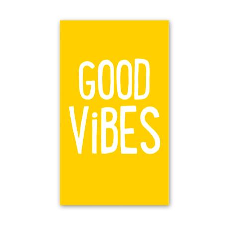 Rock Scissor Paper Good Vibes! - Enclosure Card
