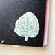 Steel Petal Press Monstera Leaf Sticker