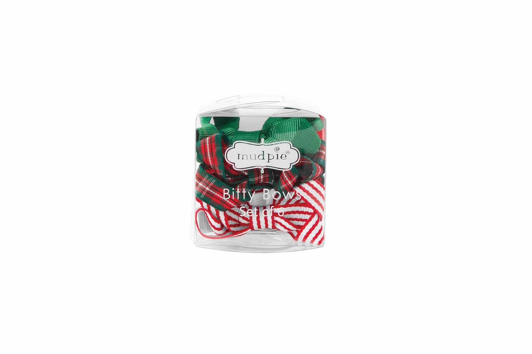 Mud Pie Grosgrain Holiday Bitty Bows