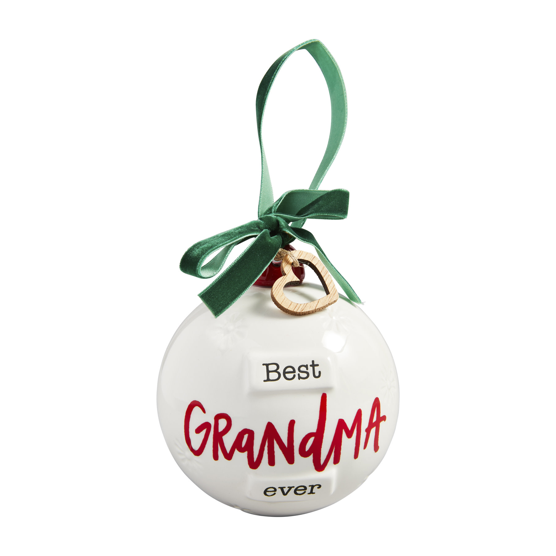 Mud Pie Grandma Round Ornament
