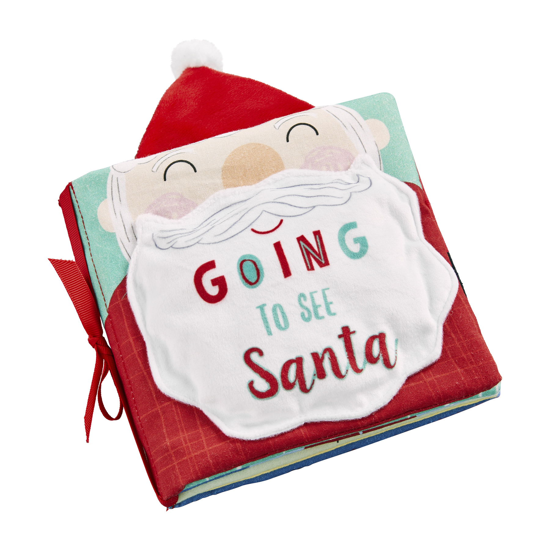 Mud Pie Going To See Santa Book