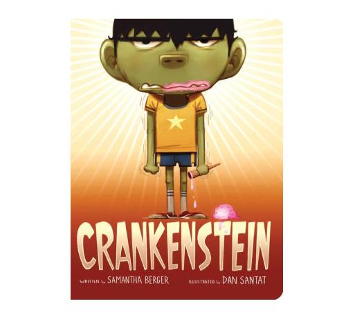 Hachette Crankenstein Board Book