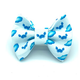 Banjo's Bows Blue Crabs On The Half Shell Dog Bow Tie