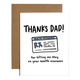 Brittany Paige Dad Health Insurance Father's Day Card