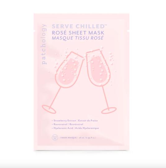 patchology Back Bar Serve Chilled™ Rosé Sheet Mask
