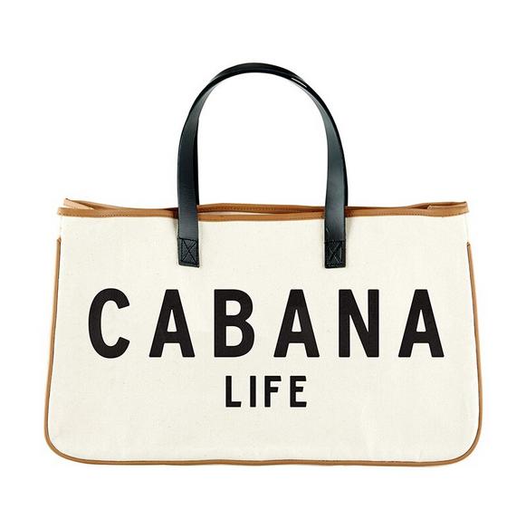 Creative Brands Canvas Tote - Cabana Life