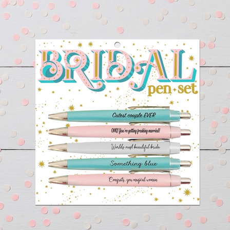 FUN CLUB Bridal Pen Set