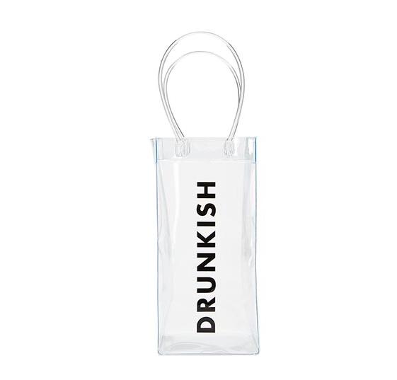 Creative Brands Clear Wine Bag-Drunkish
