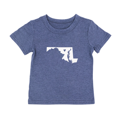 About Face Designs Maryland 2T Toddler Tee
