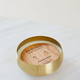 Rewined Champagne Small Gold Bowl Candle