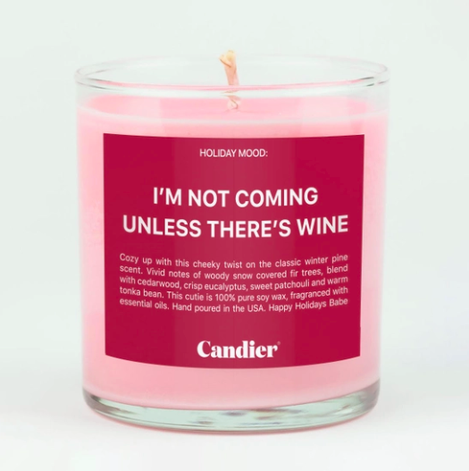 Ryan Porter IS THERE WINE CANDLE