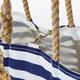 Sea Bags Gold Star On Navy Stripe Medium Tote